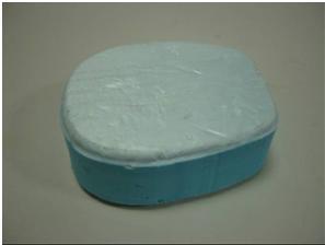 styrofoam pad